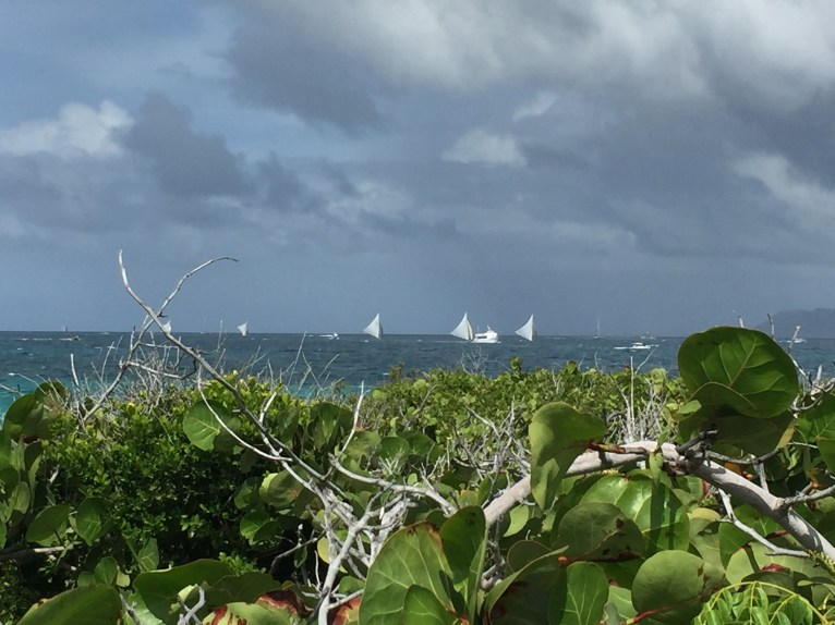 Following the Anguilla Day Round the Island Boat Race