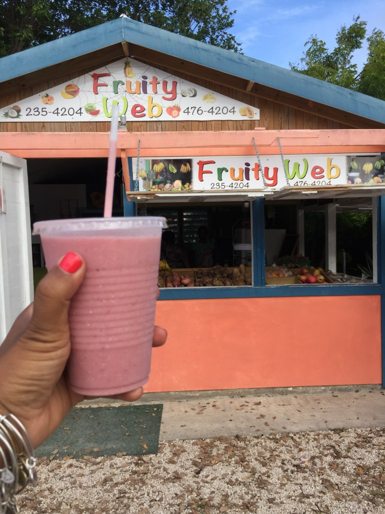 Smoothie at Fruity Web