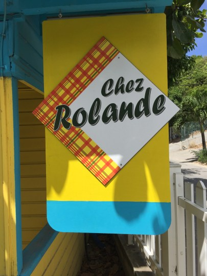 Chez Rolande in Flamands in St. Barth