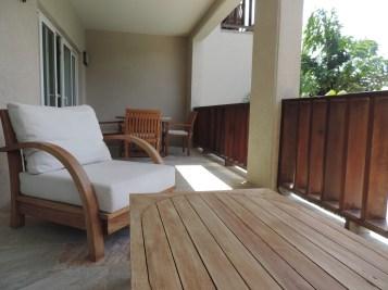 Balcony at Fountain Resort Anguilla