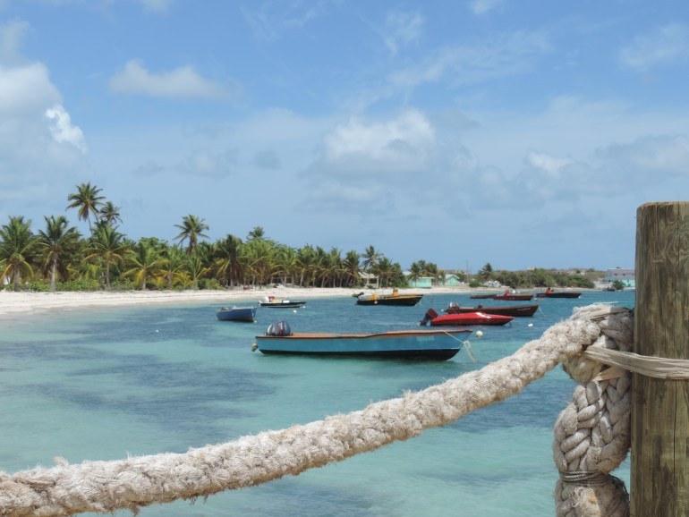 Fishing boats in Island Harbour