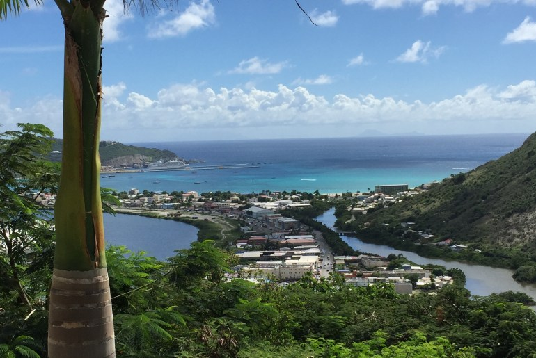 View of Philipsburg