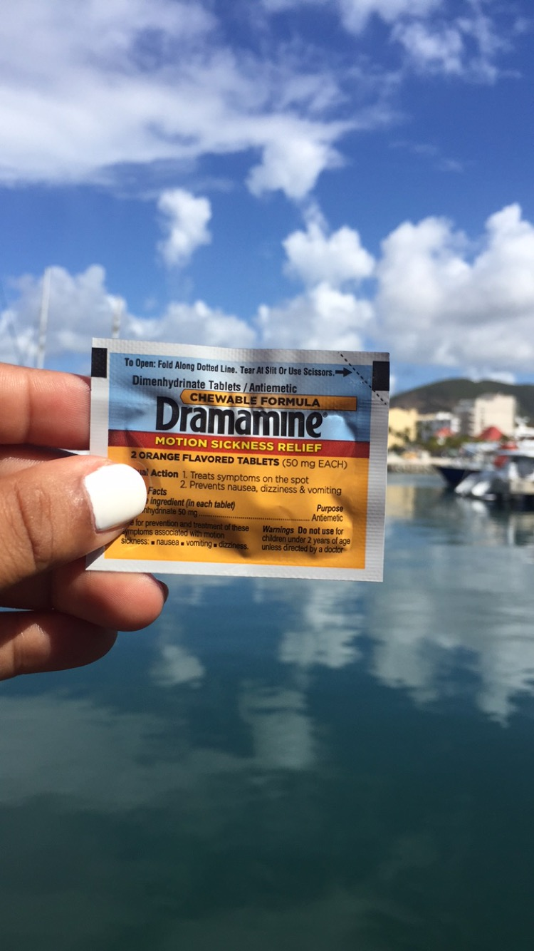 Dramamine, the new hangover cure
