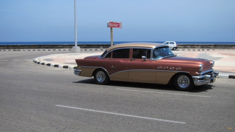 Old American cars in Havana