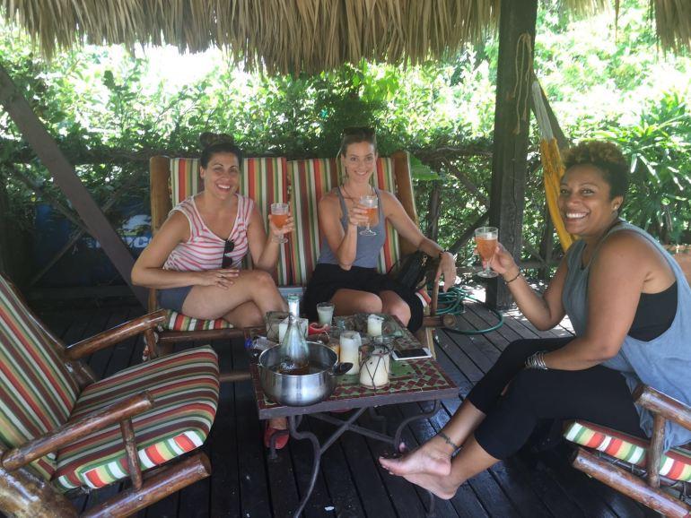 Bloggers meeting in Santo Domingo