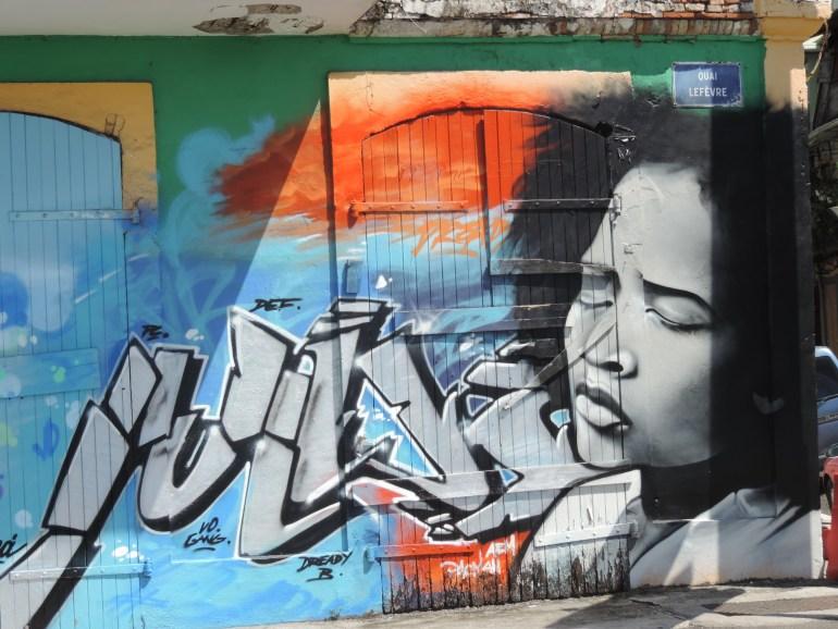 Pointe a Pitre Mural