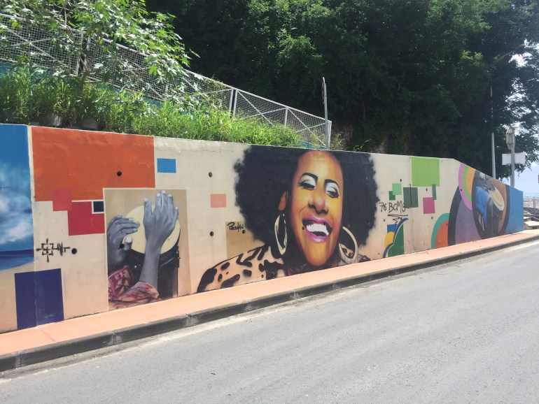 Street art in Saint Ann Guadeloupe