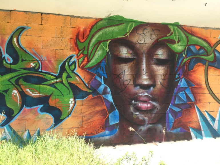 Gorgeous Street art in Guadelouoe