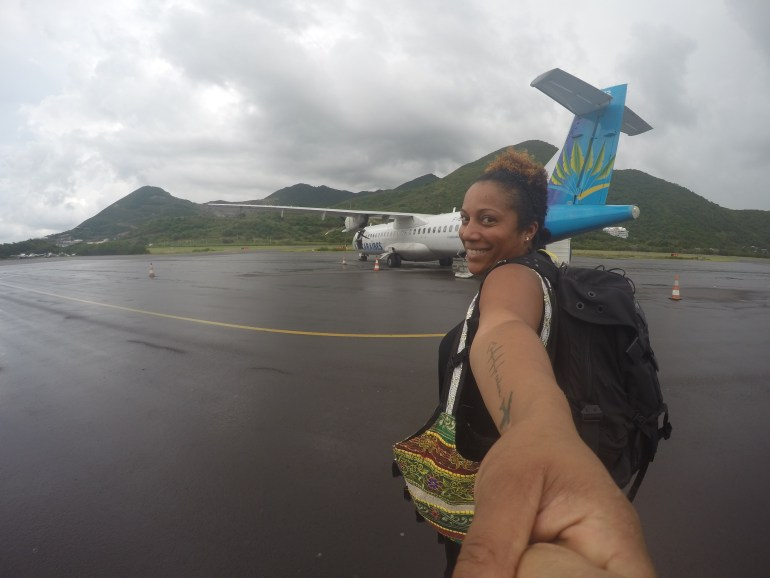 With Air Caraibes to Guadeloupe