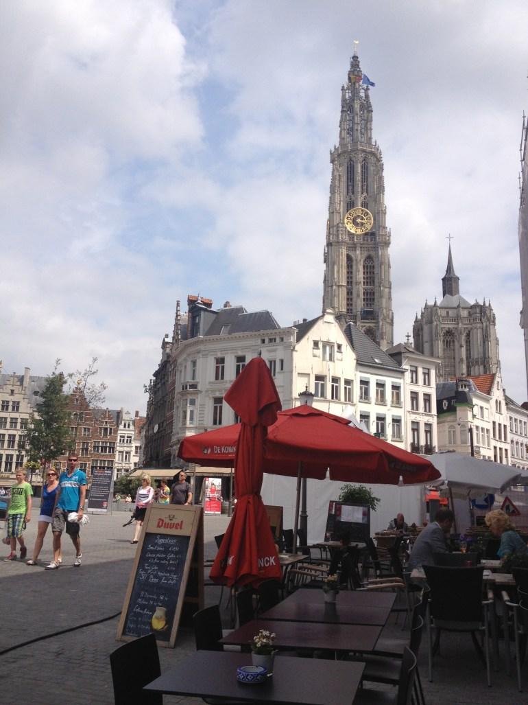 Getting robbed in Antwerp