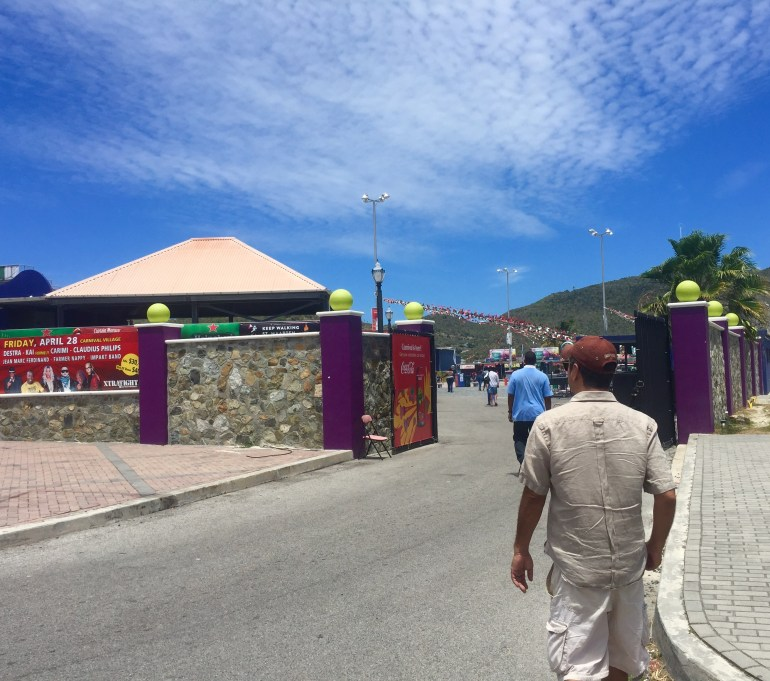 Eat and drink your way through the St. Maarten Carnival Village