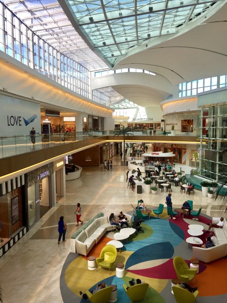 Shopping at the Mall of San Juan