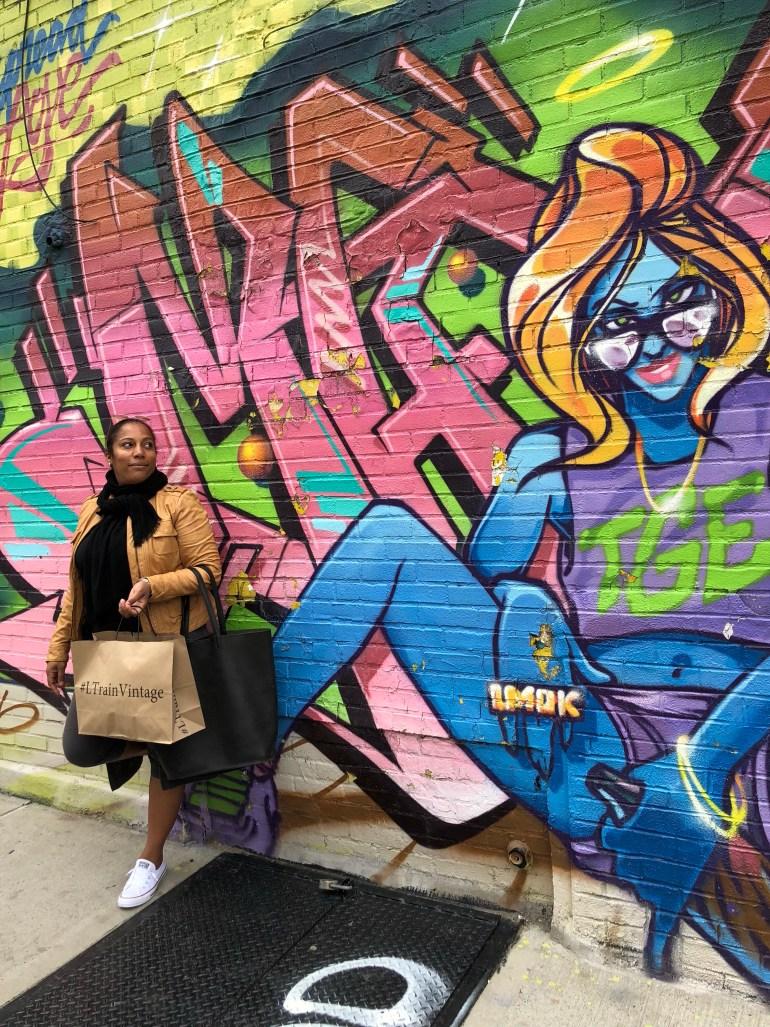 Chasing Murals in Bushwick