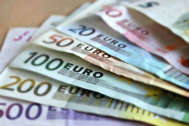 The Euro is the currency on French St. Martin