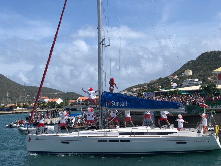 How to enjoy the St. Maarten Heineken Regatta as a non sailor