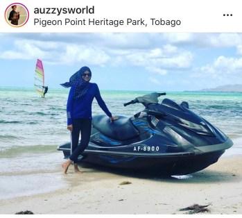 Asma Ali - Caribbean traveler