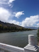 River view near our hotel in Lhasa.