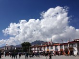 Big square (with lots of shopping) outside Jokhang Temple.