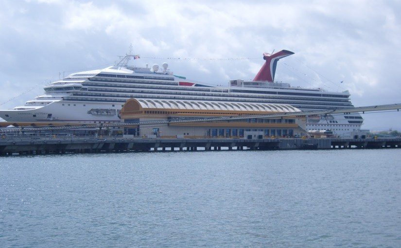 Carnival… a cruiseline you couldn't pay me to patronize…