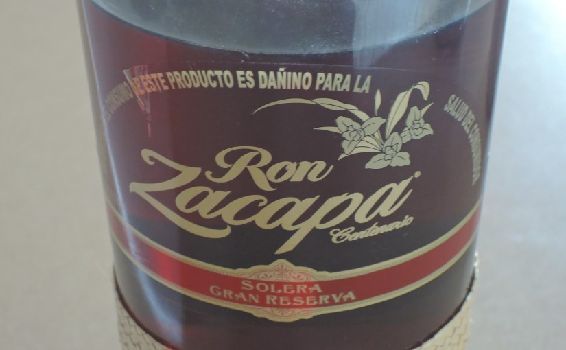 Guatemalan rum… and other boozy delights…
