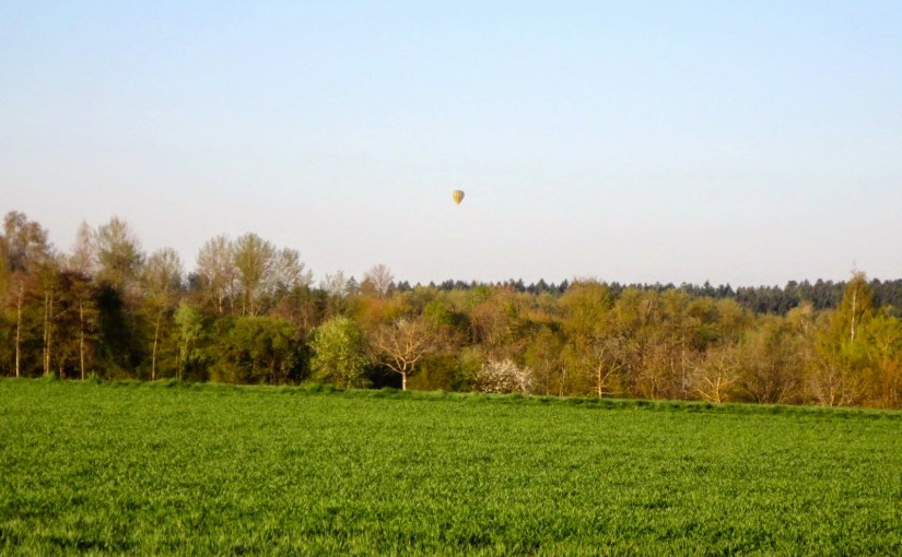 A lovely day for a balloon ride…