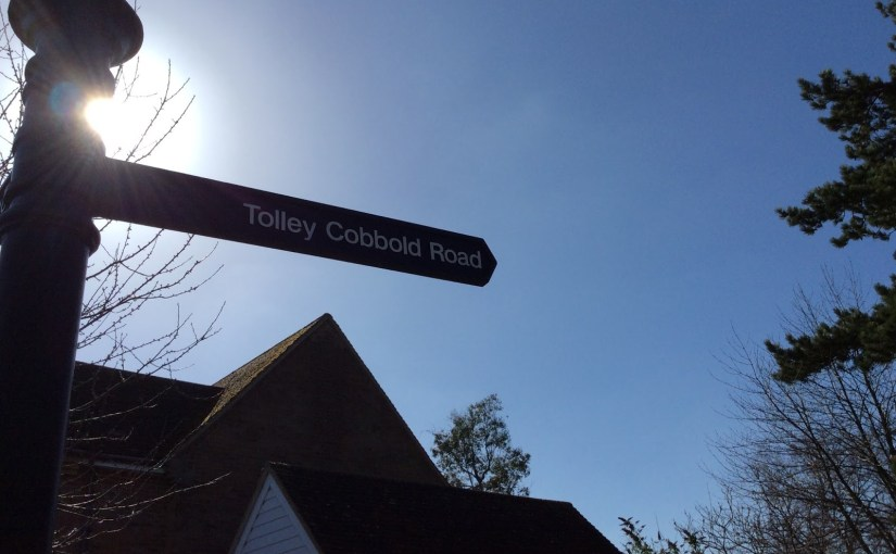 How my dad got a street named after him and a beer in England…