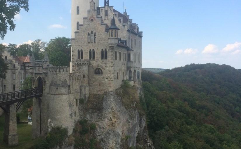 We finally made it to lovely Schloss Lichtenstein…