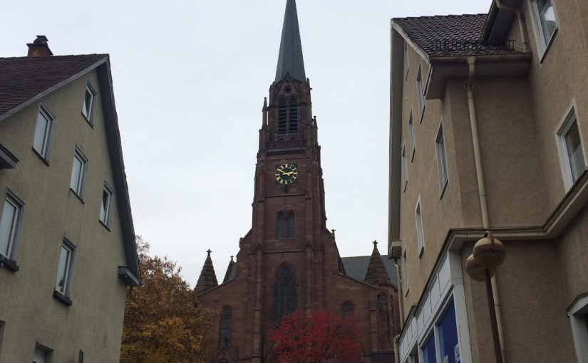 A Schlachtfest! And lunch in Nagold at Luz Bistro Bar…