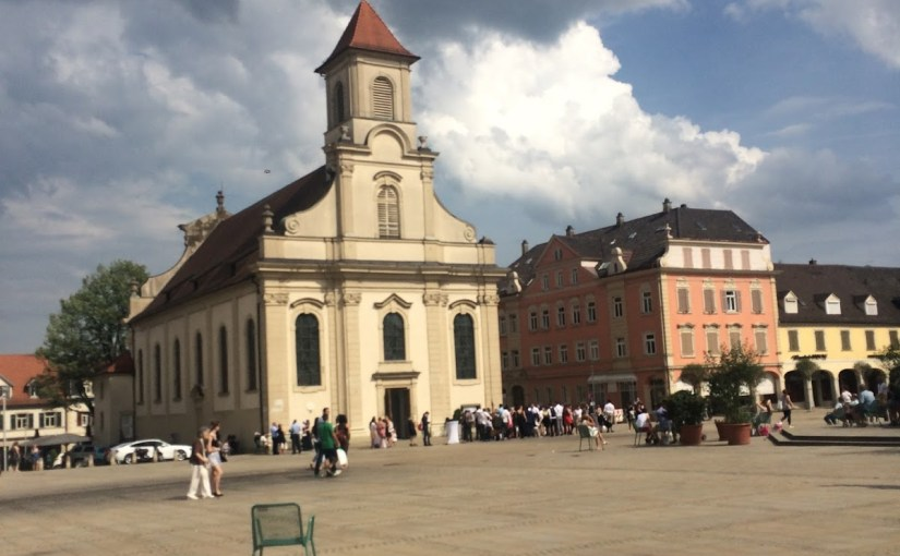 Leisurely Ludwigsburg and unexpected fests…