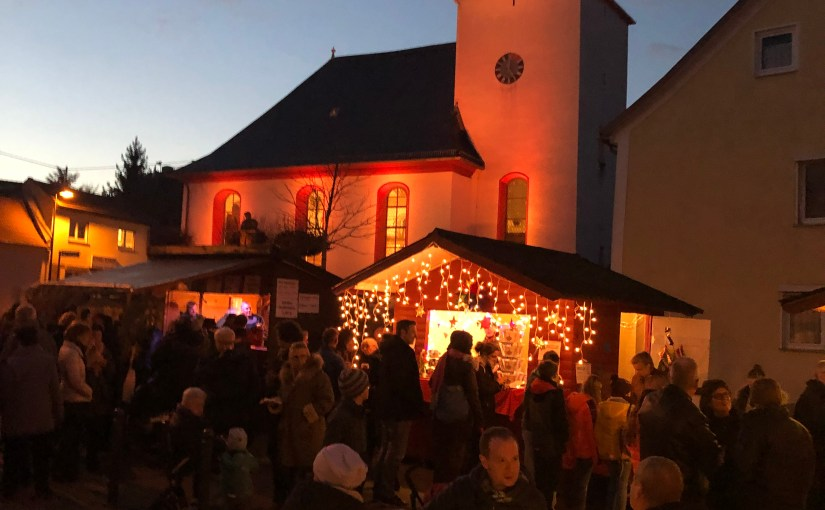 Our little Adventmarkt!