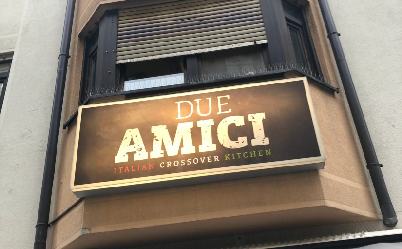 Lunch at Due Amici in Wiesbaden…