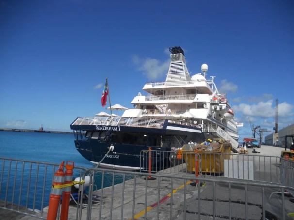 Docked in Barbados in November 2011.