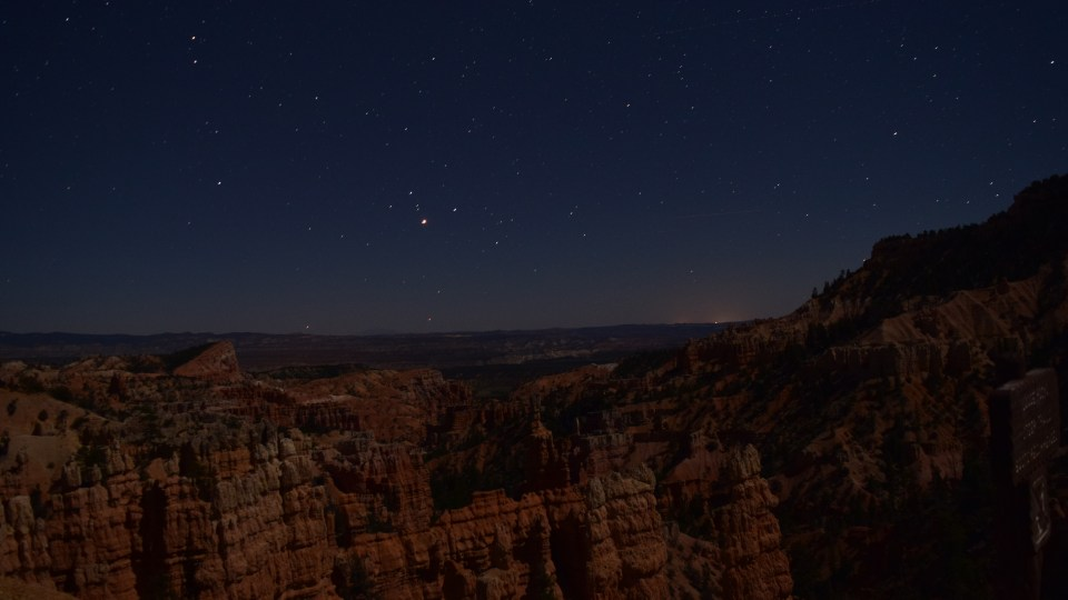 Stargazing in Bryce National Park