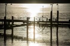 Pretty dock on the lake