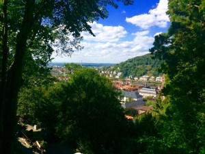 The View of Heidelberg from Moore Haus