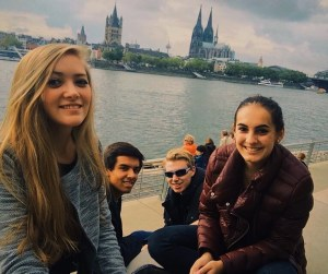Squad up at the Rhine River