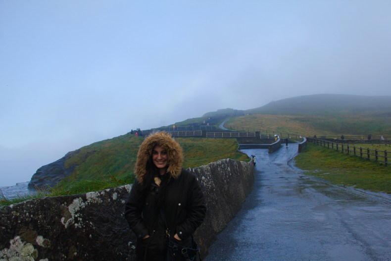 I was so cold and tired of the rain - Cliffs of Moher, Ireland