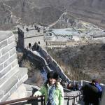 I was just a baby when I climbed the Great Wall of China