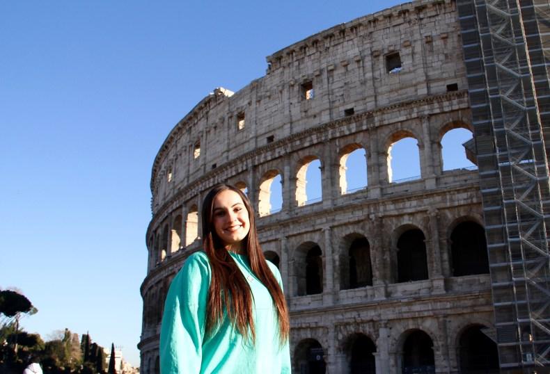 The Flavian Amphitheater - Rome, Italy
