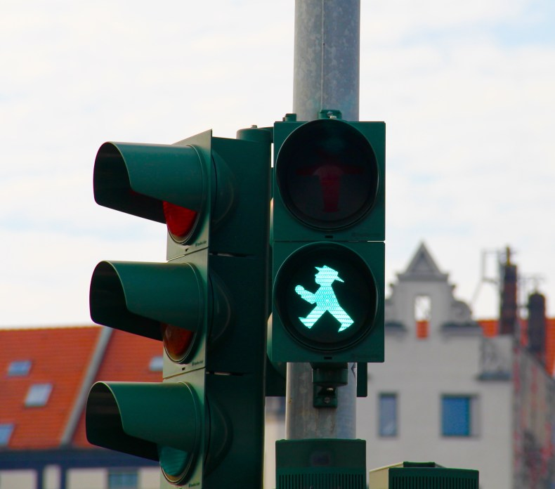 Berlin has some of the cutest pedestrian crossing lights - Berlin, Germany