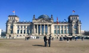 """The Reichstag of """"Dem Deutschen Volk"""" - Berlin, Germany"""
