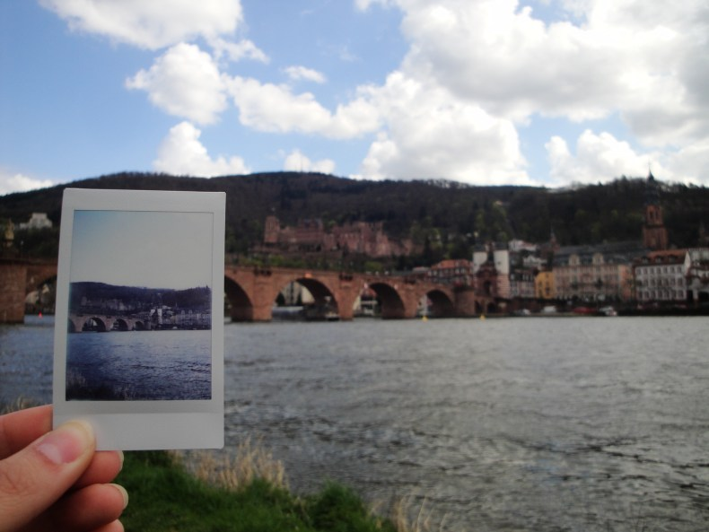 My favorite view in all of Heidelberg - Germany
