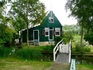 People actually live in these beautiful homes! Zaanse Schans - Netherlands