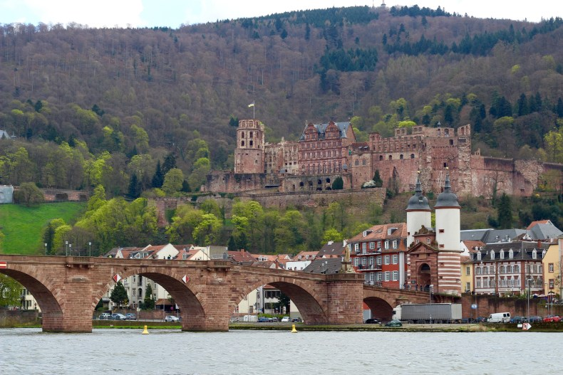 Who wouldn't fall in love with this beautiful city of Heidelberg?