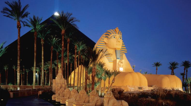 The Luxor is definitely one of the best Las Vegas Hotels and one of the most iconic!