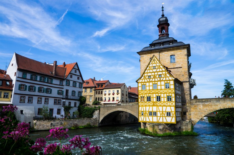 Bamberg medieval town