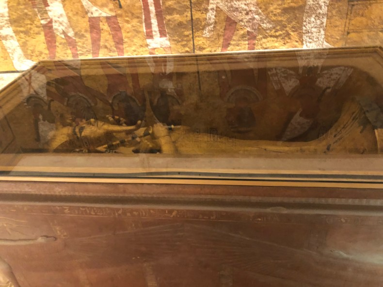 King Tut's Golden Coffin