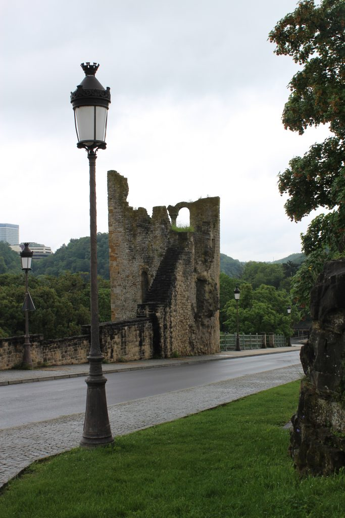 Luxembourg UNESCO Ruins - The Traveling Storygirl