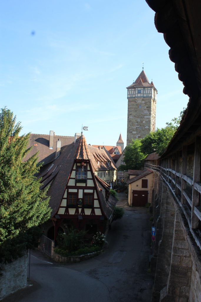 Rothenburg walls - The Traveling Storygirl