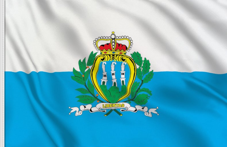 San Marino Flag - The Traveling Storygirl